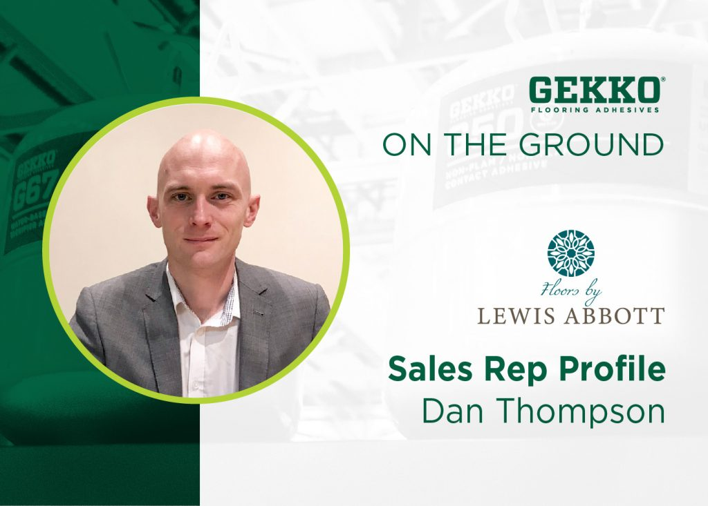 Branded template image including Dan Thompson, Commercial Manager at Lewis Abbott.