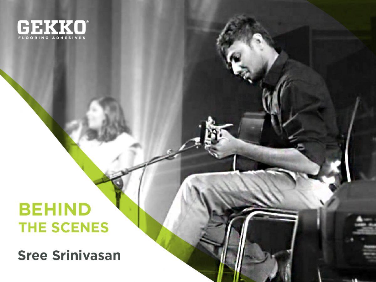 Branded image featuring Gekko staff member Sree Srinivasan.