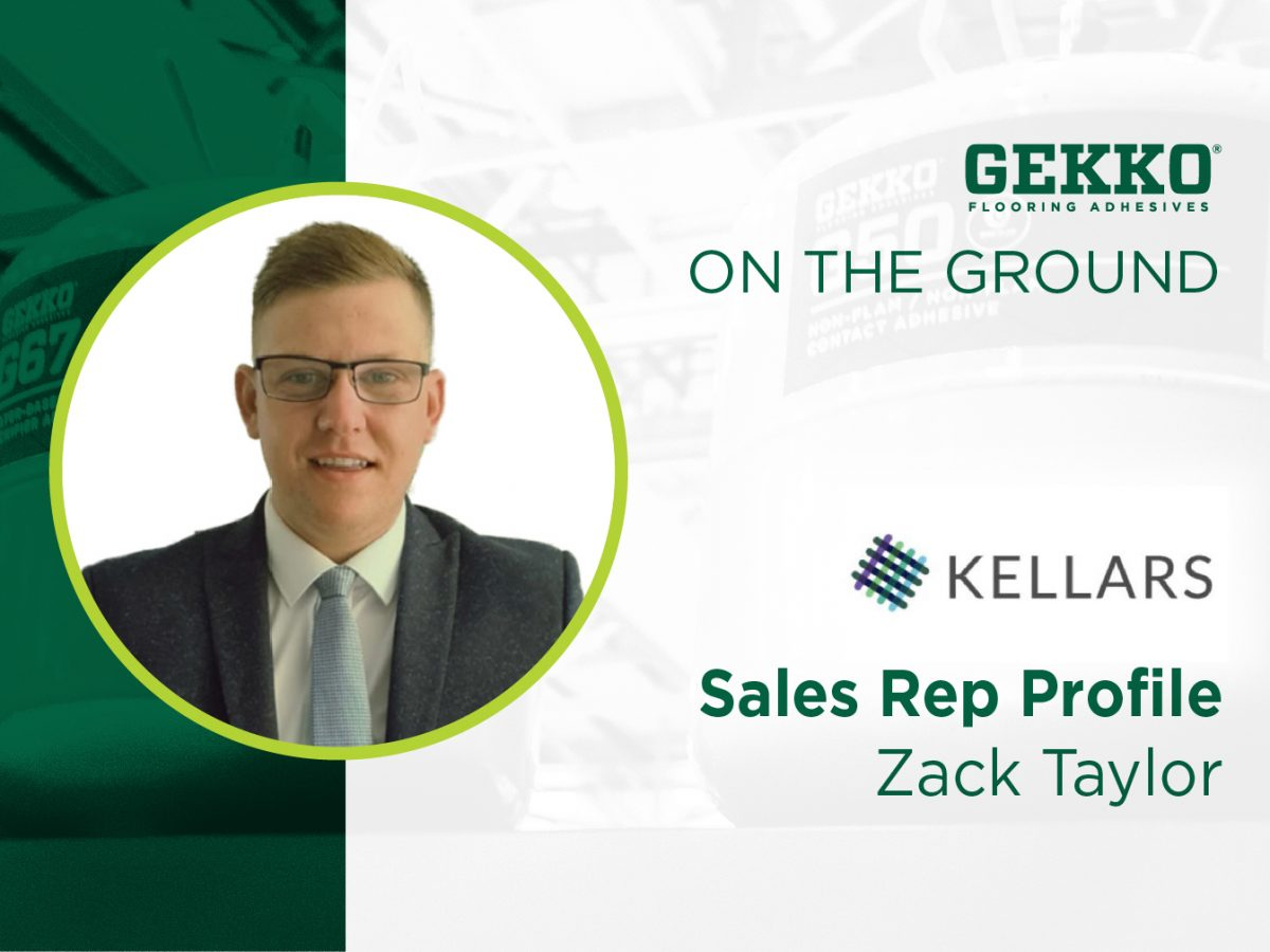 Branded image featuring Zack Taylor, Area Sales Manager at Kellars